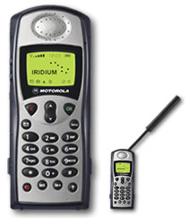 Iridium 9505A Portable Satellite Phone